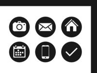 """daily UI 055 """"Icon Set"""""""