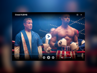 """daily UI 057 """"Video Player"""""""