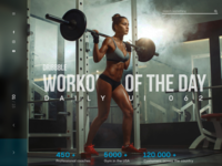"""daily UI 062 """"Workout of the Day"""""""