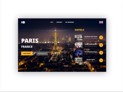 """daily UI 067 """"Hotel Booking"""""""