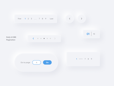 """daily UI 085 """"Pagination"""" vector good best switcher number pagination page 085 button amazing color great beautiful nice awesome wonderful ui daily ui web design"""