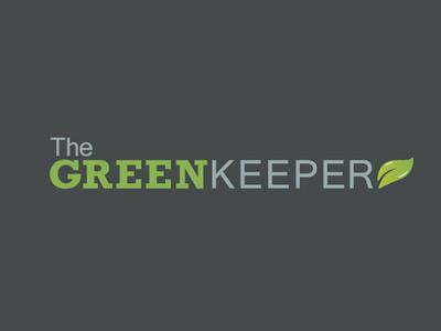 The Greenkeeper Logo graphic design design grey green service gardening identity branding brand logo