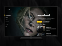TV App - Daily UI 025