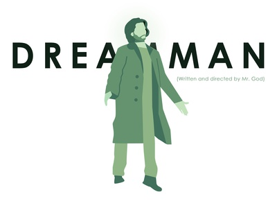 Flat illustration Dreamman