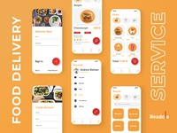 Readdle Food Delivery Service