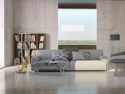 commercial modeling and visualization interior 3ds max tile production visualization commercial