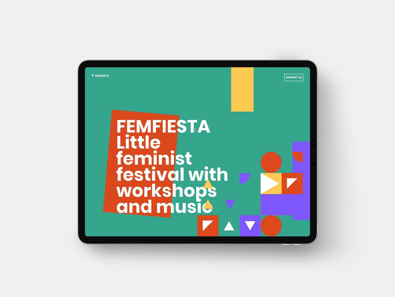 FEMFIESTA Website ▼▼▼