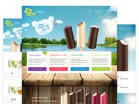 Ice-Cream Míša Website