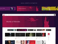 Sleets website : Genre Explorer