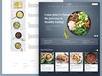Order recipe boxes webdesign grocery online grocery store online shop food website ecommerce