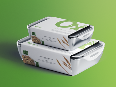 Packaging for Eco Food packaging logo graphicdesign typography logotype identity branding design