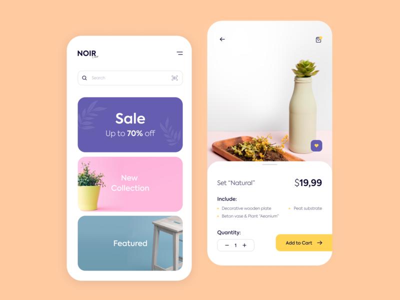 Noir Decor - Mobile store concept