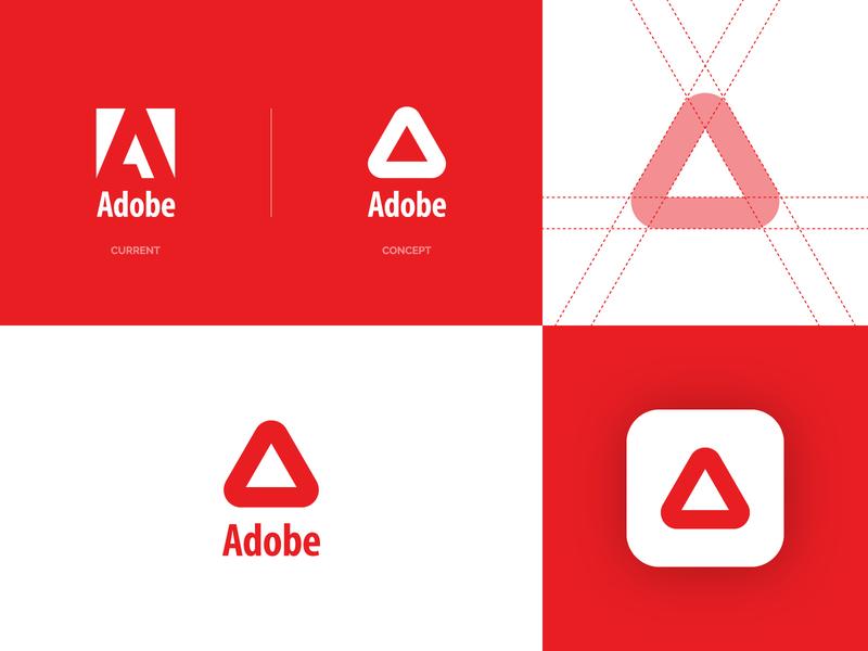 Adobe Logo Redesign