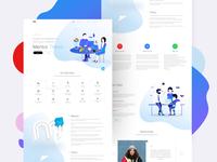 Mentorthesis - Website UX xd creativity web ui website mentorthesis design studio delhi interaction design design studio concept design inspire uxd uxd technologies uxd