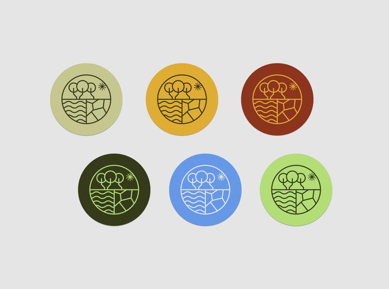 Água Mineral - Stickers icon design iconography icon logo design logotype brand design brand identity brand visual identity design branding logo stickers