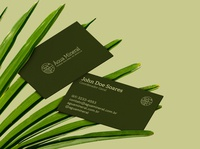 Água Mineral - Business Cards