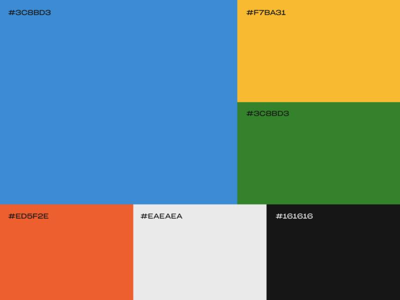 Color Palette graphic design logo design logotype brand design brand visual identity logo design branding brand identity brand proposal