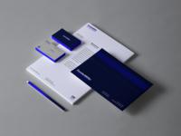 Stationery logotype brand visual identity logo design branding brand design brand identity redesign concept rebrand redesign rebranding dunder mifflin