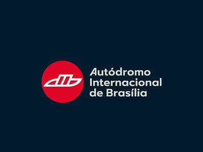 Autódromo Internacional de Brasília branding logo design