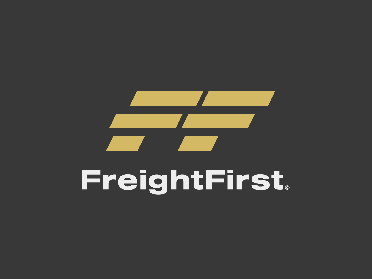 Freight First logocore visual identity logo design 30 day logo challenge branding freight first