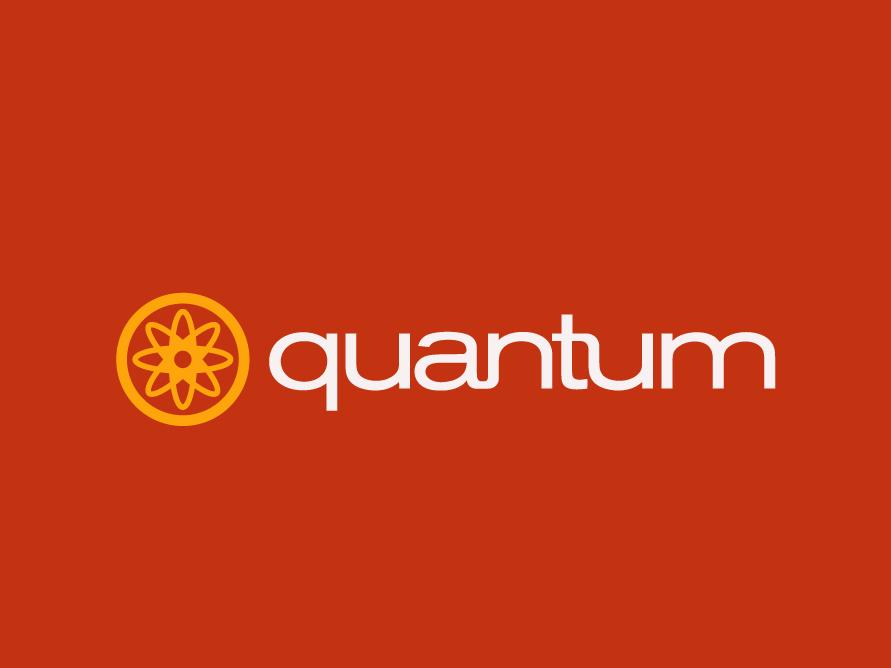 Quantum logocore brand logotype brand design brand identity visual identity logo design branding 30 day logo challenge