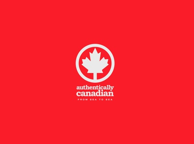Authentically Canadian rebrand