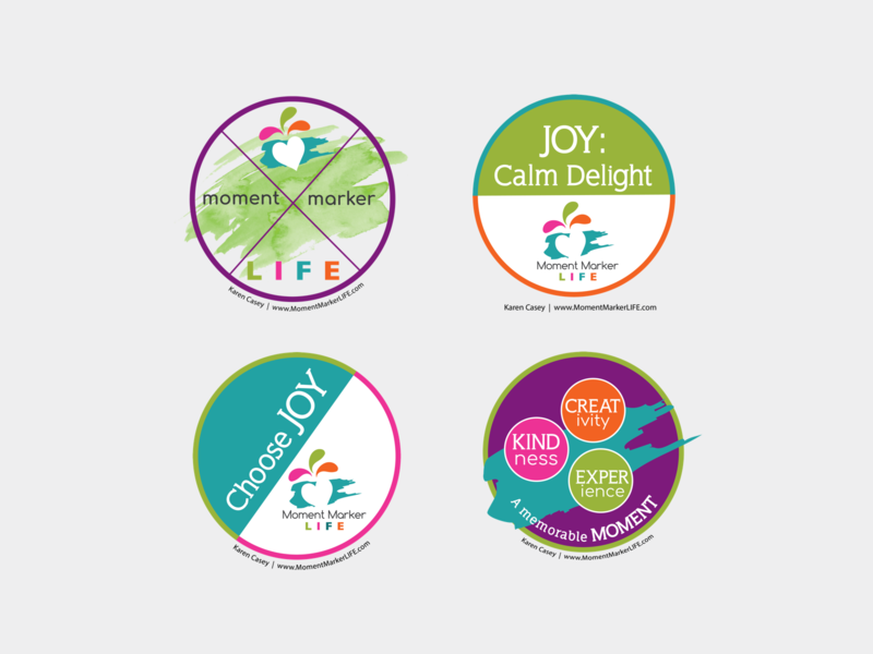 MML Stickers logo typography ui design branding