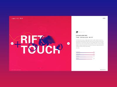 VR Company Blog Concept