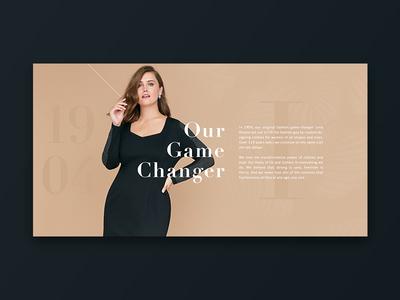 Lane Bryant Concept ecommerce retial alex webb designs alex webb webb design