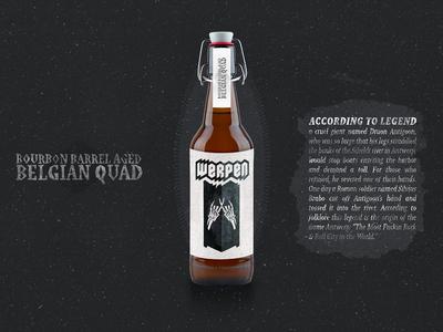 Werpen Beer Label