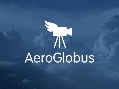 AeroGlobus flight sky video camera fly logo vag