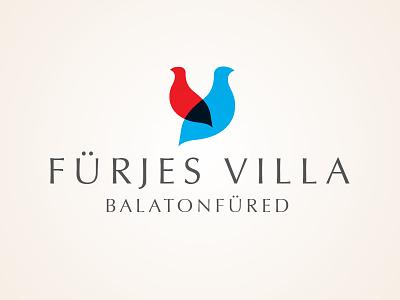 Villa Quail logo bird balaton quail