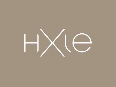 hxle label clothing logo