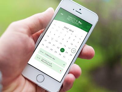 Calendar date agenda application iphone apple ios calendar
