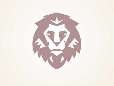 Lion wild animal head crest lion logo cigarettes luxury