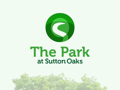 The Park at Sutton Oaks oak logo park