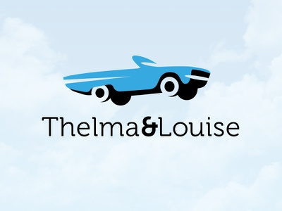 Thelma & Louise logo car louise thelma
