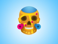 Google maps skull icon