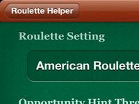Roulette Helper app settings
