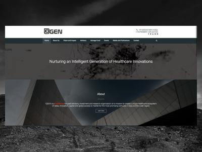 IQgen.co elementor wordpress freelance designer personal website design website