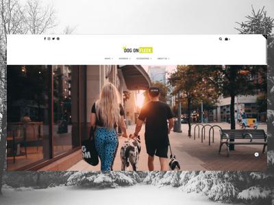 DogOnFleek.com elementor wordpress freelance designer personal website design website