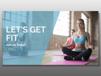 Fitness Header Template