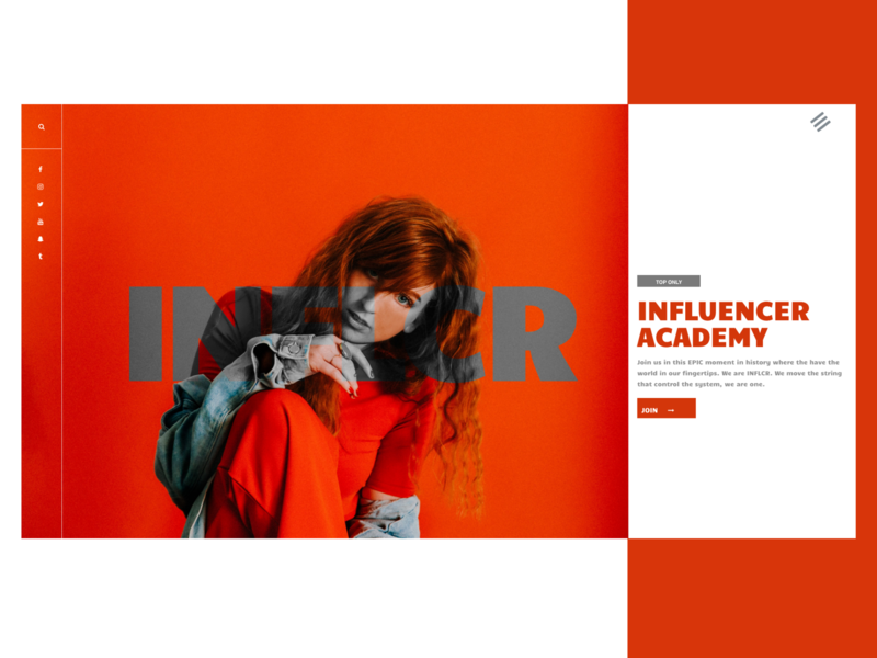Influencer UX Design influencer wp ui template web design ux design ux freelance designer elementor wordpress design website