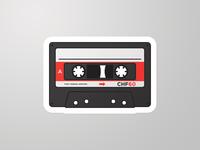 Tape Sticker