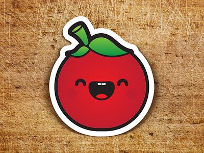 ¡Tomate! sticker tomatoro kawaii tomato