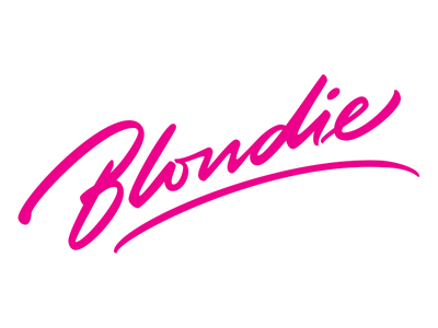 Blondie punk pink blondie lettering