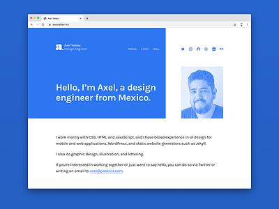 New Website website design website personal wordpress