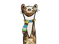 Weasel's new Scarf