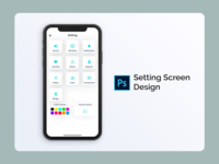 Setting Screen Design