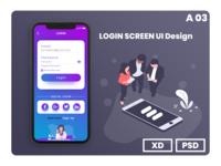 Login Ui Design